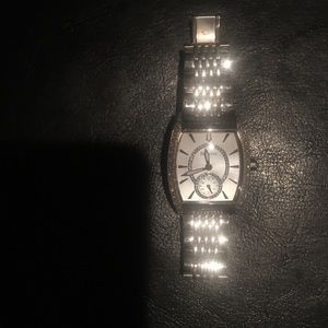 Designer Bulova watch with diamonds